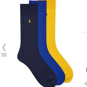 *3for$30* Polo Ralph Lauren socks 3-pack NWT